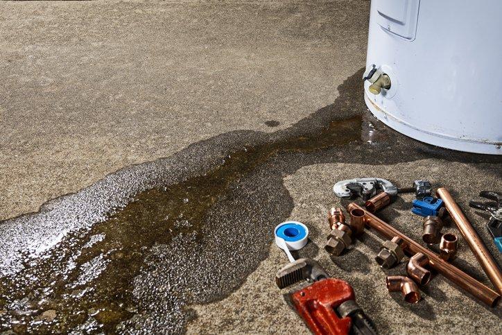 broken water heater needs repair mesa az