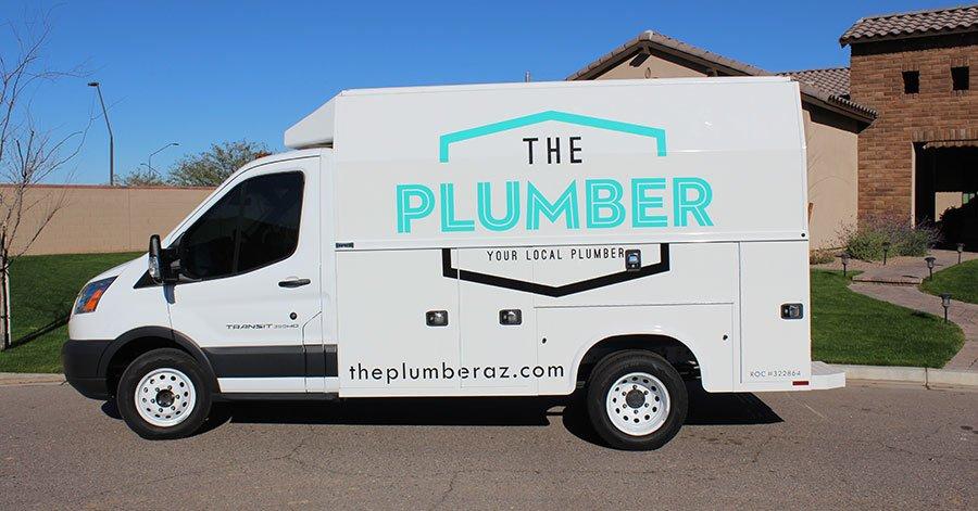 the plumber truck